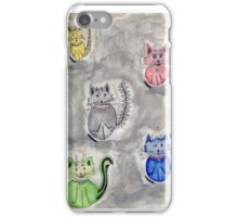 Cat Party iPhone Case/Skin