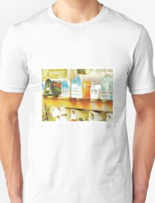 Spring: expectant mailboxes Unisex T-Shirt