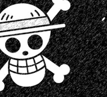 One Piece Luffy Jolly Roger Sticker