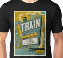 Train Picasso Bulletproof at the Wheel Summer Tour Unisex T-Shirt