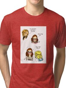 Glasses Tri-blend T-Shirt