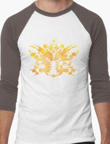 Pikachu Rorschach test Men's Baseball ¾ T-Shirt