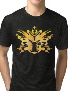 Pikachu Rorschach test Tri-blend T-Shirt