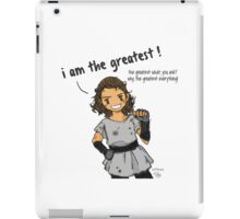 I am the Greatest! iPad Case/Skin