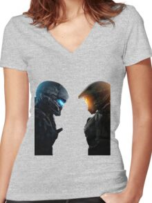 Halo 5  Women's Fitted V-Neck T-Shirt