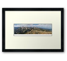 View from Sniezka Framed Print