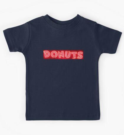 Neon Sign - Donuts Kids Tee