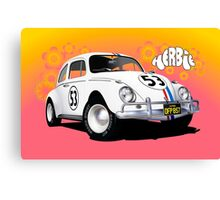 Herbie The Love Bug Canvas Print