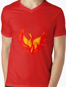 phoenix Mens V-Neck T-Shirt