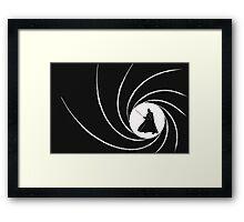 007 Vader Framed Print