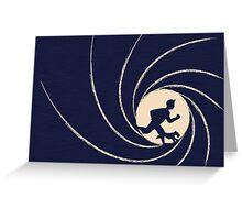 007 Tintin Greeting Card