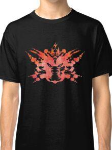 Pikachu Rorschach Test (Red) Classic T-Shirt