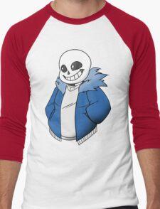 Undertale Sans! Vector Men's Baseball ¾ T-Shirt