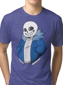 Undertale Sans! Vector Tri-blend T-Shirt