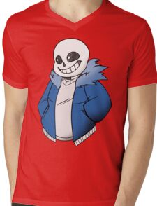 Undertale Sans! Vector Mens V-Neck T-Shirt