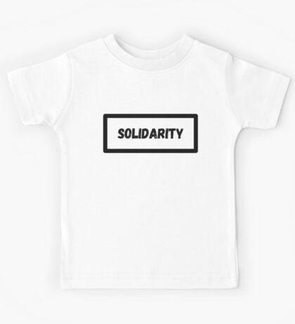 Solidarity Kids Tee