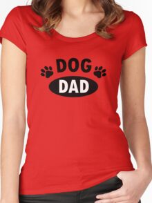 Dog Dad Women's Fitted Scoop T-Shirt