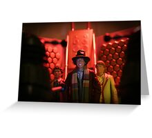 Doctor Who In Trouble! Greeting Card