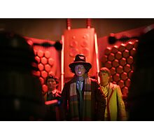 Doctor Who In Trouble! Photographic Print