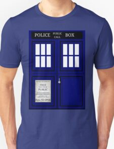 Doctor Who Tardis: Close Up  T-Shirt