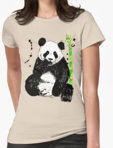 Bamboo For Lunch Womens Fitted T-Shirt