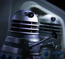 Dead Planet Daleks by TheWhiteBear