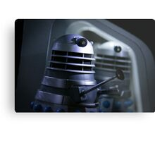 Dead Planet Daleks Metal Print