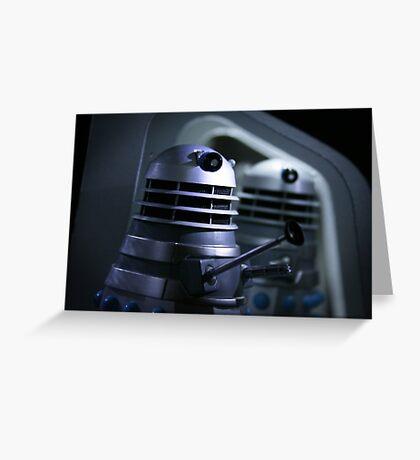 Dead Planet Daleks Greeting Card