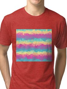 Bright rainbow Tri-blend T-Shirt