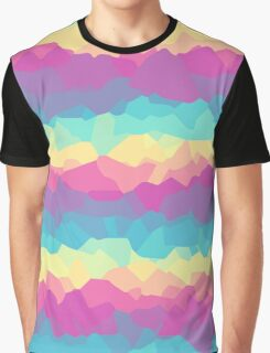 Bright rainbow Graphic T-Shirt