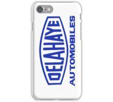 French classic car logo Delahaye automobiles iPhone Case/Skin