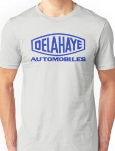 French classic car logo Delahaye automobiles Unisex T-Shirt