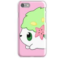 Cute Shaymin Land Form Pokemon iPhone Case/Skin