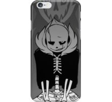 sans undertale iPhone Case/Skin