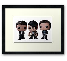 Supernatural - Dean, Castiel and Sam Framed Print