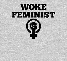 Woke Feminist Womens Fitted T-Shirt
