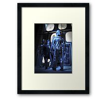 Doctor Who and The Tomb of the Cybermen Framed Print