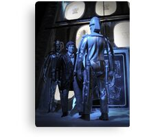 Doctor Who and The Tomb of the Cybermen Canvas Print