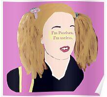 Skins UK - I'm Pandora. I'm useless. Poster