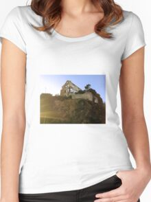 Skeletal House Women's Fitted Scoop T-Shirt