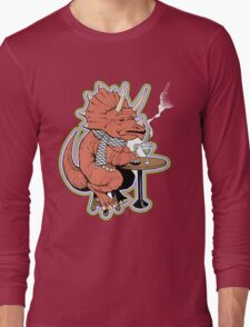 Ty the Triceratops LGBT Dinos! Long Sleeve T-Shirt