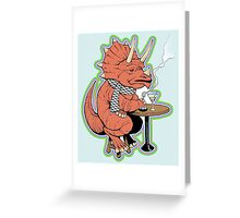 Ty the Triceratops LGBT Dinos! Greeting Card