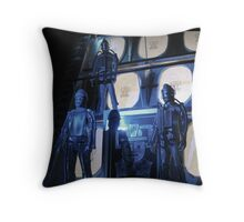 The Tomb of the Cybermen Throw Pillow