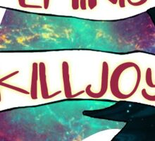 Star Trek: Feminist Killjoy Sticker