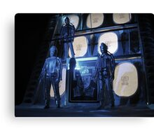 The Tomb of the Cybermen Canvas Print