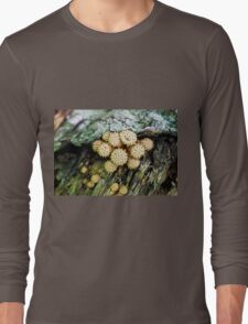 Spikey Mushroom  Long Sleeve T-Shirt
