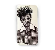 Lucy Lucille Ball Vintage Look Scribble Art Samsung Galaxy Case/Skin