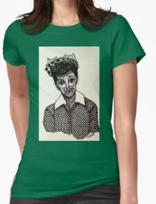 Lucy Lucille Ball Vintage Look Scribble Art T-Shirt
