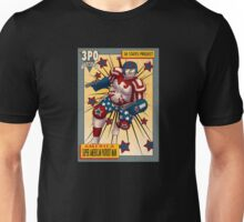 Super American Patriot Man Trading card Unisex T-Shirt