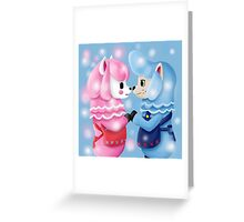 Animal Crossing Reese and Cyrus  Greeting Card